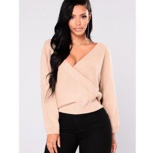 NWT Fashion Nova Anne Marie sweater top